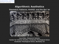 Algorithmic Aesthetics: Geometric Patterns, Amthāl, and the Qur'an