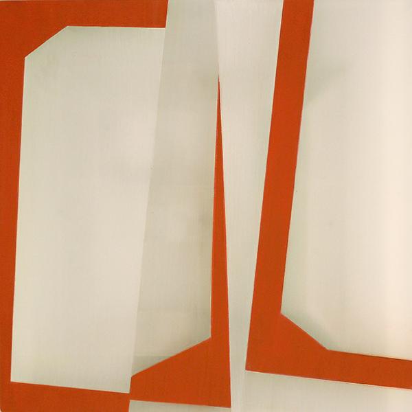 acrylic on plexiglass, 14 x 14 inches, 2018